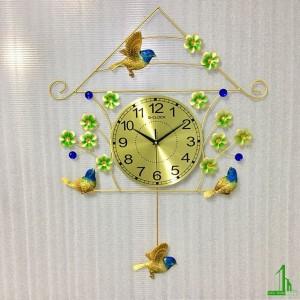 Đồng hồ trang trí lồng chim 1921